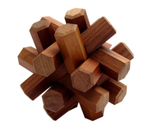 Walnut Puzzle - 12 pc.