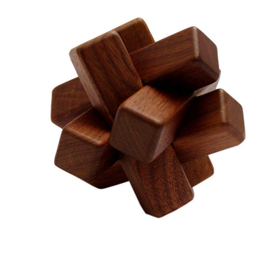 Walnut Puzzle - 6 pc.