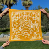 Thunderbird Bandana - California Gold