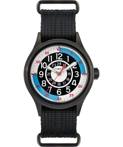 Timex x Todd Snyder Blackjack Inspired 40mm Watch - Black/Blue/White