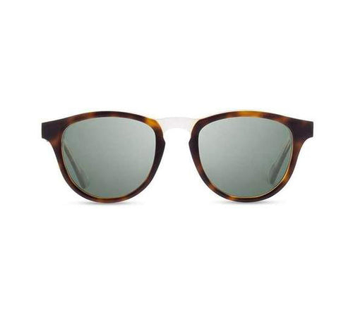 Francis Sunglasses, G15 Polarized - Brindle /Elm Burl