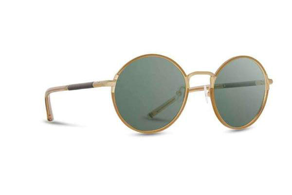 Hawthorne Sunglasses, Ebony G15 Polarized - Tortoise & Matte Gold