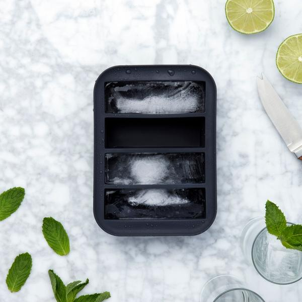 Collins Ice Tray - Charcoal