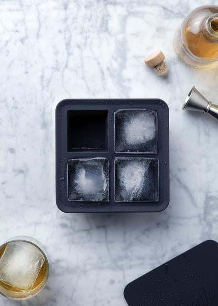 Extra Large Ice Cube Tray, Charcoal