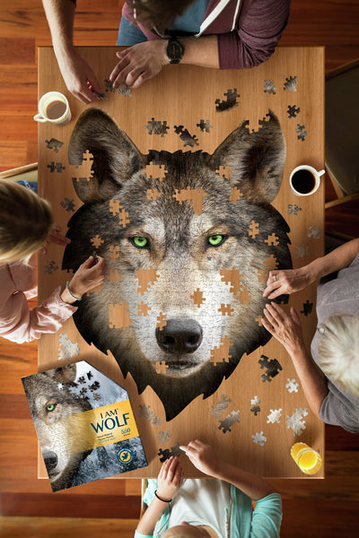 I Am Wolf Puzzle - 550 Pieces