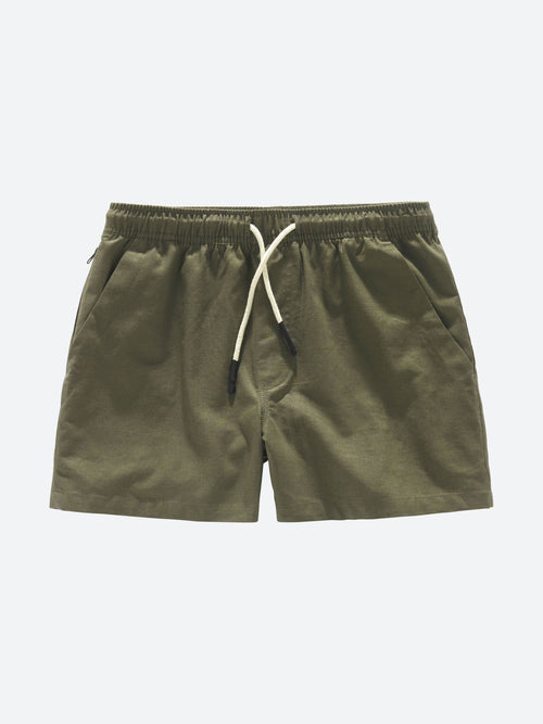 Army Linen Shorts