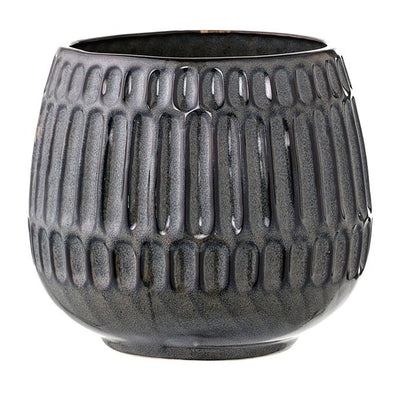 Textured Stoneware Planter