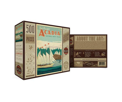 COMING SOON! National Park Puzzle - Acadia