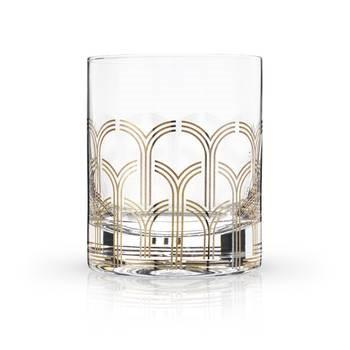 Deco Tumblers, Set of 2 - Arches