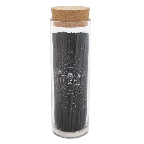 Astronomy Fireplace Matches - Black/Black