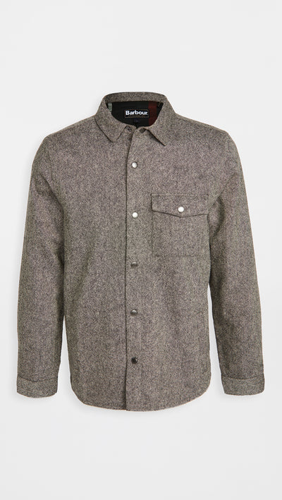 Barbour Swaledales Overshirt - Charcoal