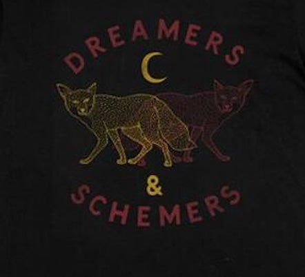 Dreamers & Schemers Graphic Tee - Black