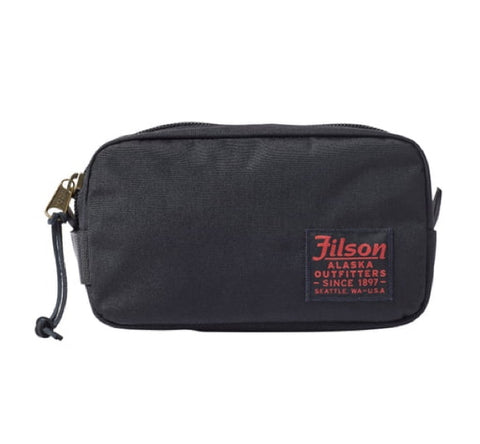 Ballistic Nylon Dopp Kit - Black