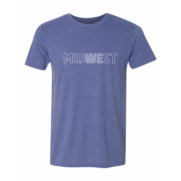 Midwest Tee - Blue