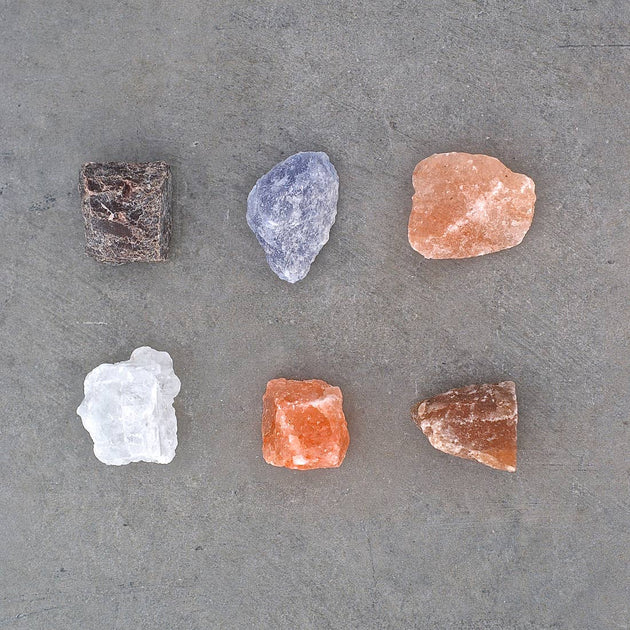 """Taste Jr"" Rock Salt, Set of Six"
