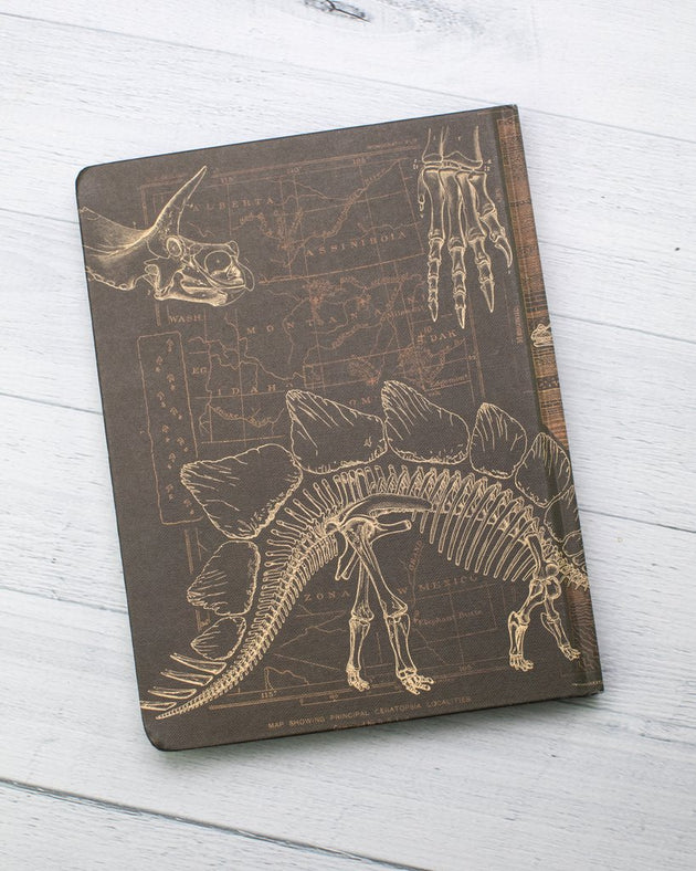 Hardcover Notebook - Dinosaur Bones: Paleontology
