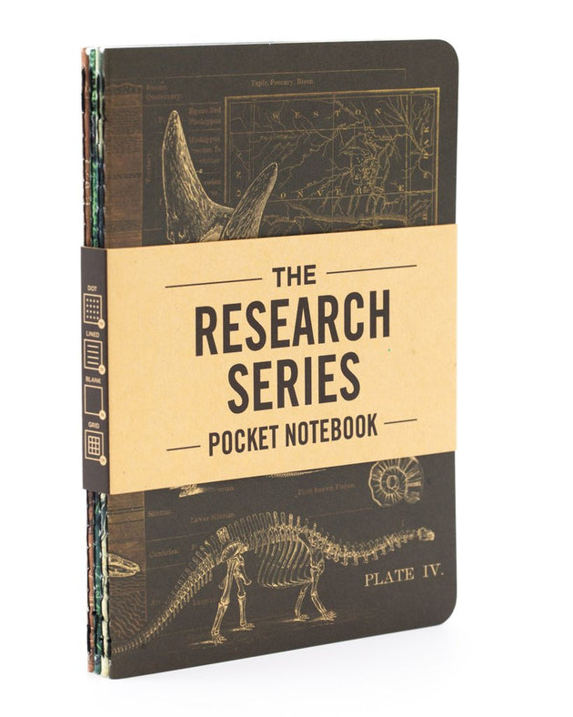 The Research Pocket Notebook Series, 4 pack - Earth Science