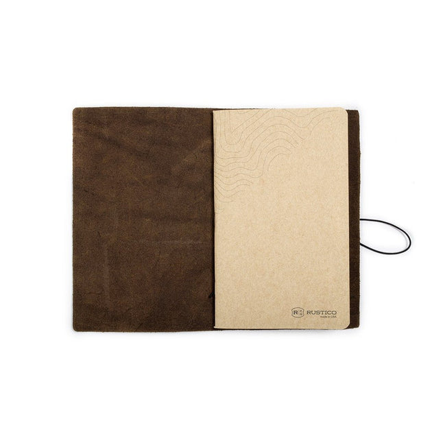 Expedition Leather Notebook (various colors)