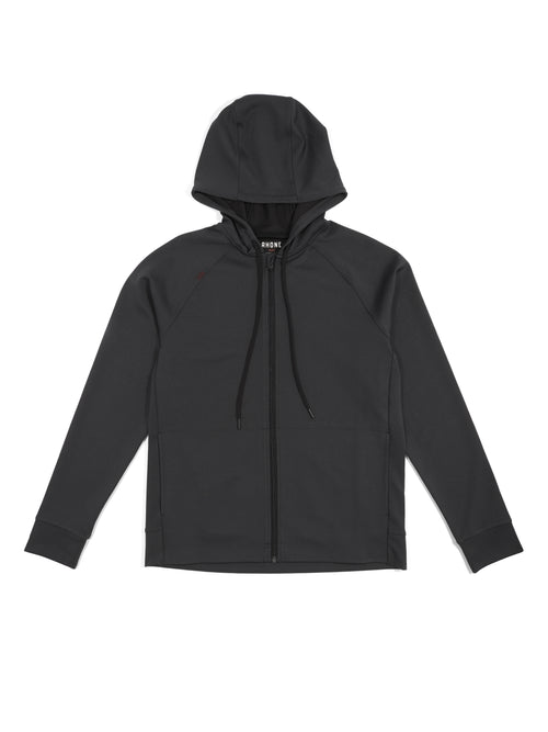 Spar Full Zip Hoodie - Black Heather