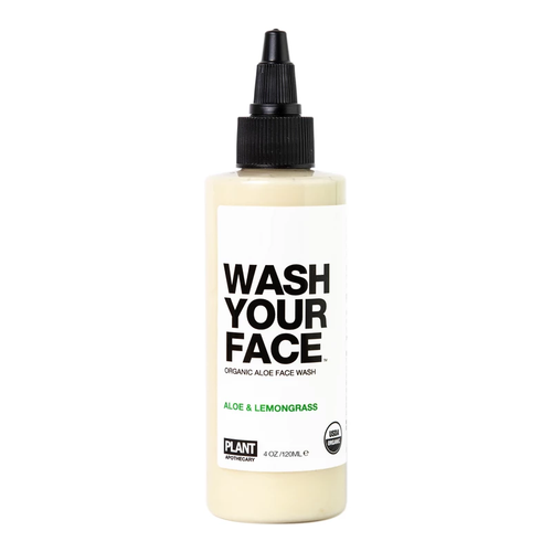 Wash Your Face Organic Aloe Face Wash