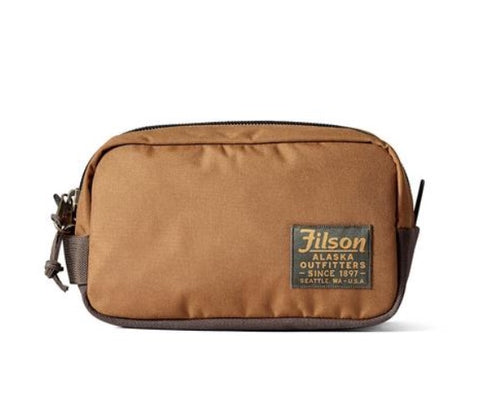 Ballistic Nylon Dopp Kit - Whiskey