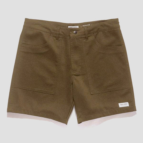 Catamaran Crossover Walk Shorts - Olive
