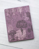 Hardcover Notebook - Forest At Dusk