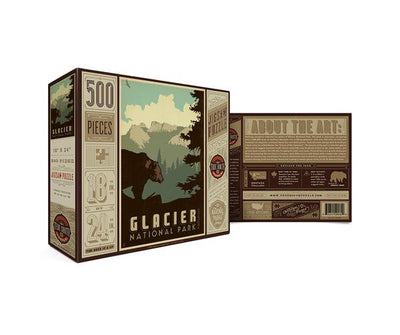 National Park Puzzle - Glacier
