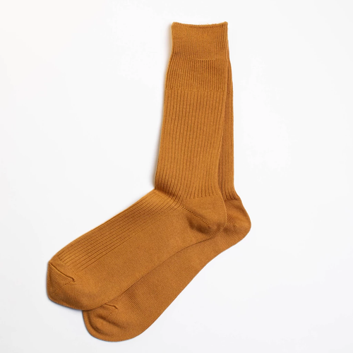 Brilliant Crew Sock - Gold