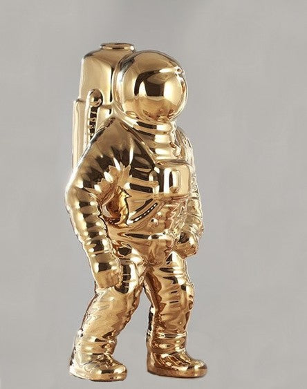 Ceramic Astronaut, Small - Gold