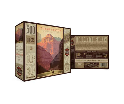 National Park Puzzle - Grand Canyon