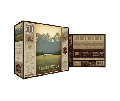 COMING SOON! National Park Puzzle - Grand Teton