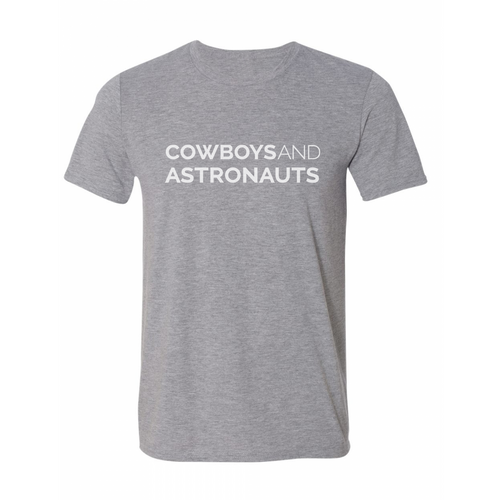 NEW! Cowboys and Astronauts Tee - Grey