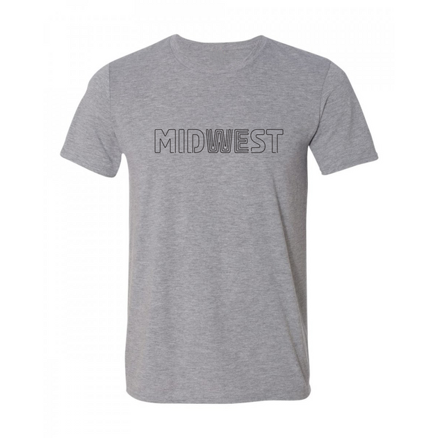 Midwest Tee - Gray