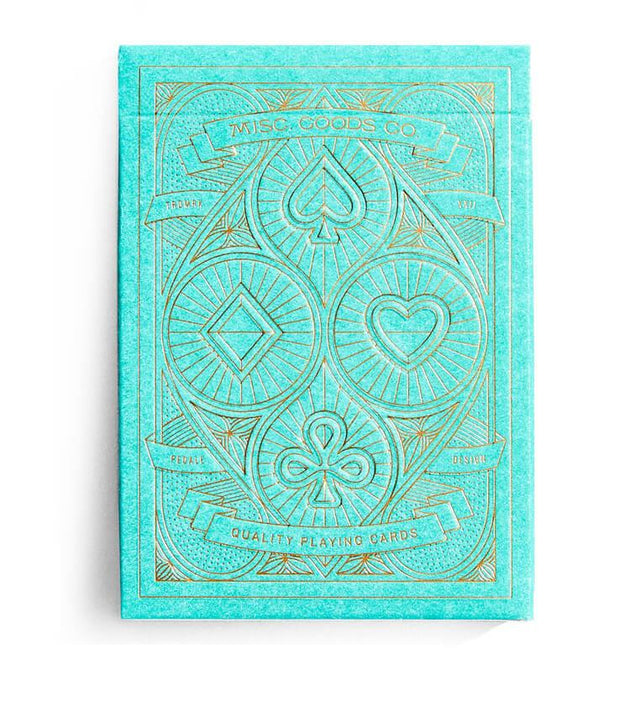 Playing Cards - Green