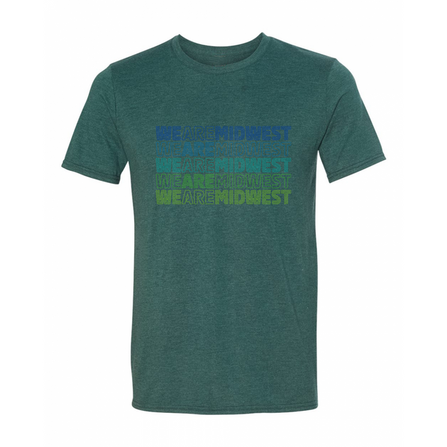 We Are Midwest Tee - Green