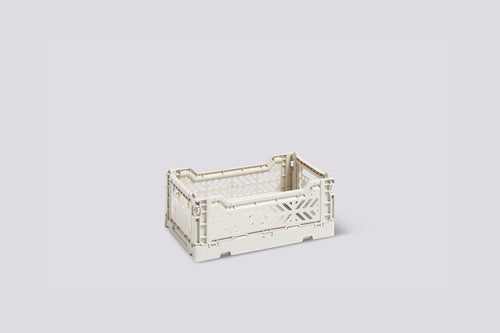 Colour Crate, Small - Light Grey