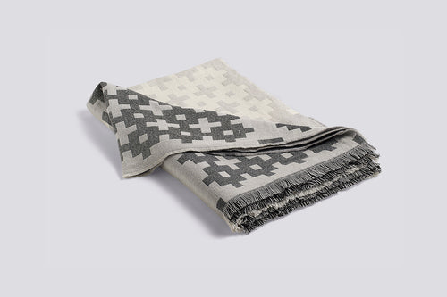 Plus 9 Throw Blanket - Grey