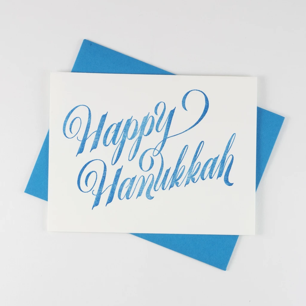 Happy Hanukkah - Card