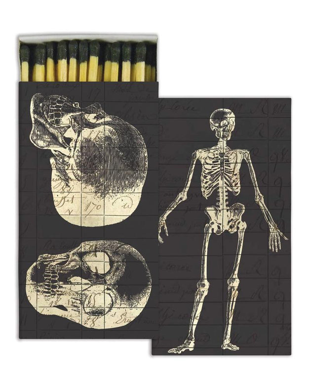Wooden Matches - Skull/Skeleton