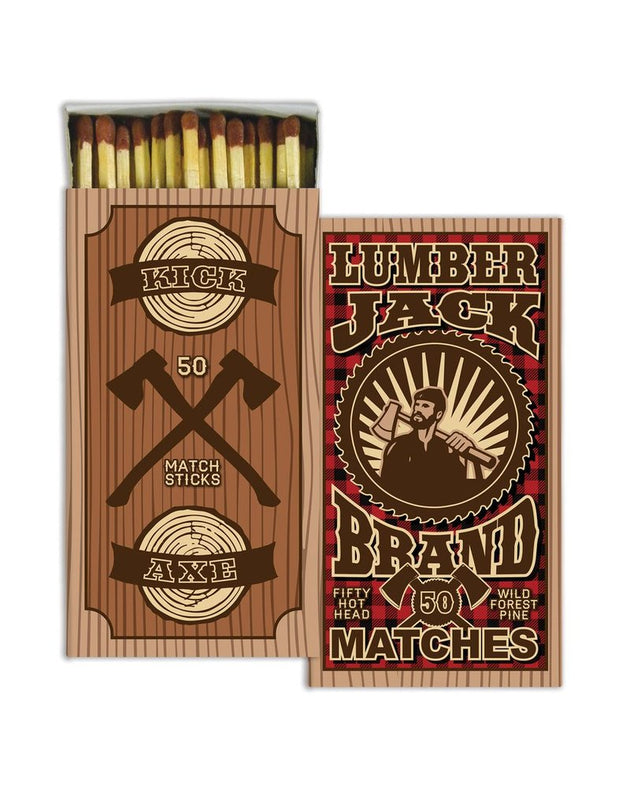 Wooden Matches - Lumber Jack