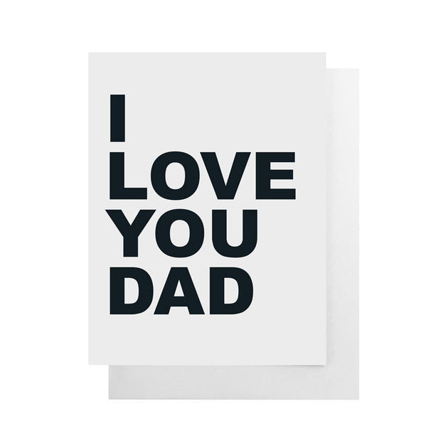 Card - I Love You Dad