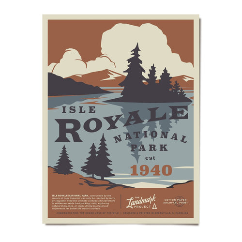 Poster - Isle Royale