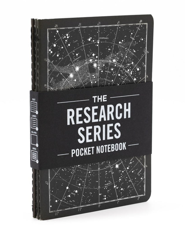 The Research Pocket Notebook Series, 4 pack - Lunar Landing