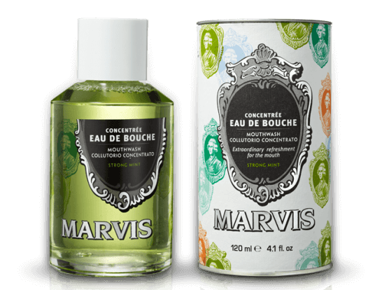 Marvis Strong Mint Concentrated Mouthwash, 4.1 oz.