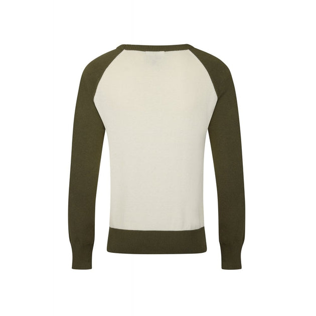 Maxi Cafe Racer Jumper Knitted Long Sleeve Top