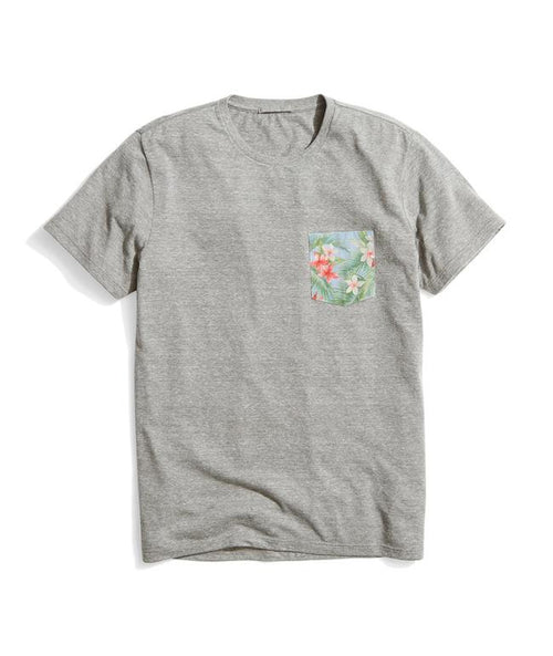 Capitola Pocket Tee - Heather Grey