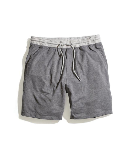 Yoga Short - Dark Heather Grey