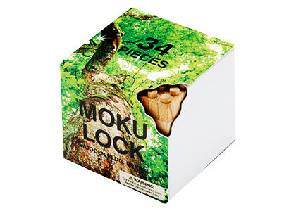 Mokulock Wooden Building Blocks, 34 pc.