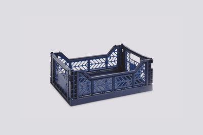 Colour Crate, Medium - Navy